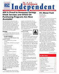 July 2003 Issue